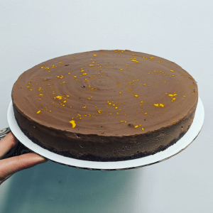 Chocolate Orange Cheesecake