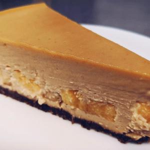 Peanut Butter Banana Cheesecake
