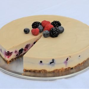 Vanilla Berry Cheesecake