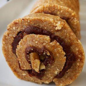 Raw Cinnamon Roll