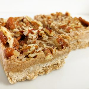Salted Caramel Pecan Bar
