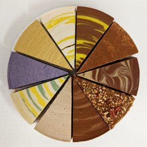 10 Slice 9″ Sampler Cheesecake
